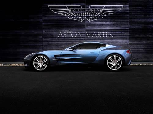 Aston Martin one 77 canvas poster art