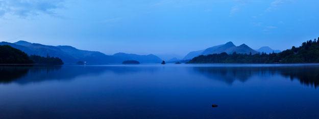 Derwentwater Calm by Rick Bowden