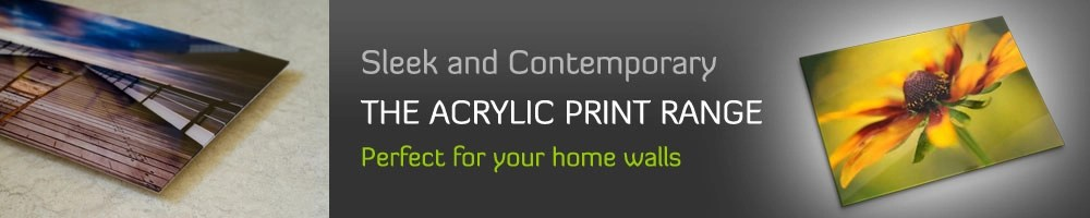 acrylic art print range
