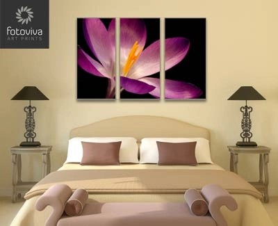 bedroom canvas wall art triptych