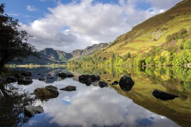 A beautiful place for capturing reflections. Pentax K5, DA 17-70 35mm, 0.4 sec @ f/16, ISO 80, tripod. © Simon Kitchin