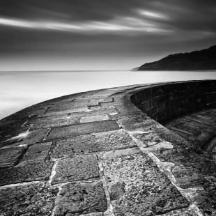 East from The Cobb. Canon 5D mark II, 24-105mm at 24mm, ISO 100, 202 secs at f/11, B+W 10 stop ND, LEE 0.6 hard grad. © Mark Bauer