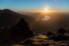 The Westmorland Cairn on the west side of Great Gable with ScaFell and Wasdale. Canon 5D Mk III, 24-105mm at 24mm, ISO 100, 1/640s at f/5.6. © Stuart Holmes.