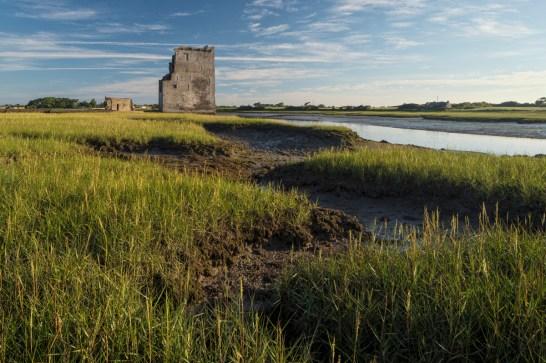 Carrigafoyle Castle, Co. Kerry, Ireland. Sony 7R II, Canon 24mm TS-E, f16,1/15 sec., ISO 100, Polarizer, Tripod. © Carsten Krieger