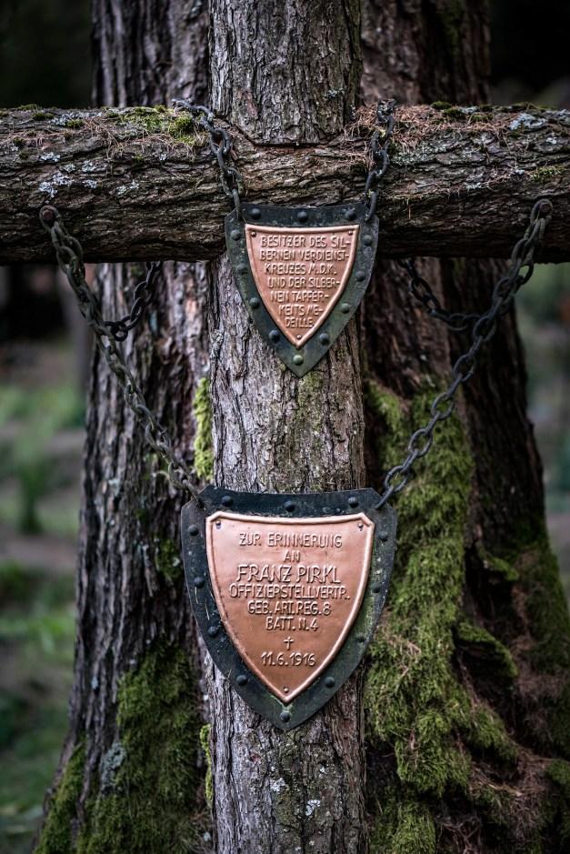 ©James Rushforth Remembrance plaques. Nikon D810, 105mm, ISO 500, 1/125s at f/2.8, June.