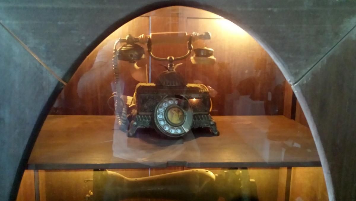 Antique Phone at the Kerapu Museum, Kota Bharu