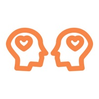 Icon of two people with heart symbols in their heads - Graphic for Humour and the Light Touch in Relationships
