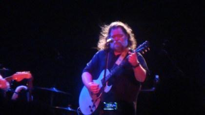 Photo of singer-songwriter Roky Erickson playing guitar in Sydney 2012 / Copyright FOTW Audio