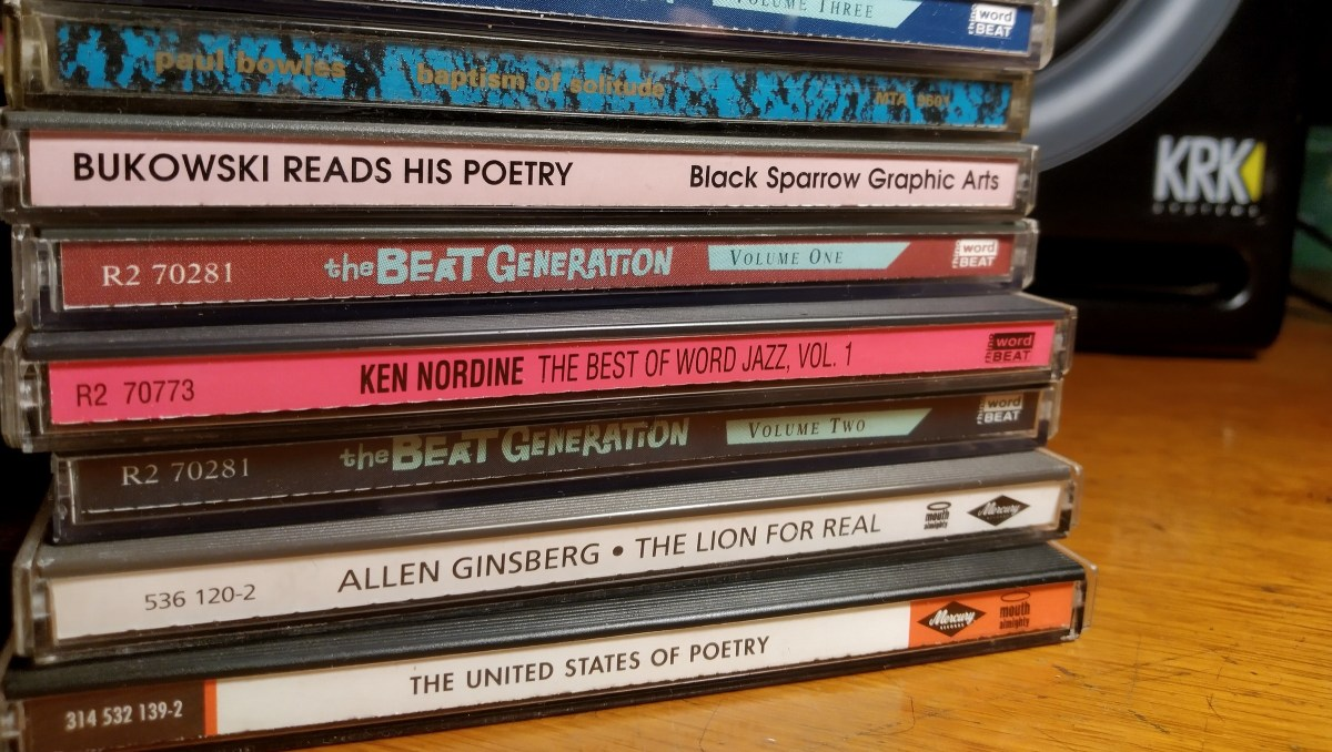 Pile of Spoken Word CDs