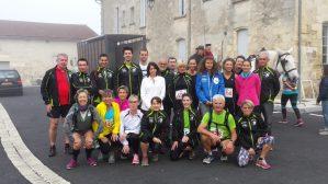 Trail des Coteaux de Fronsac du 26 Octobre 2014