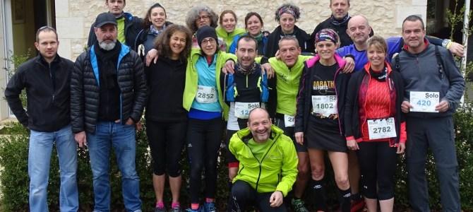 Marathon des Forts à Montignac (Lascaux) le 18 Mars 2018