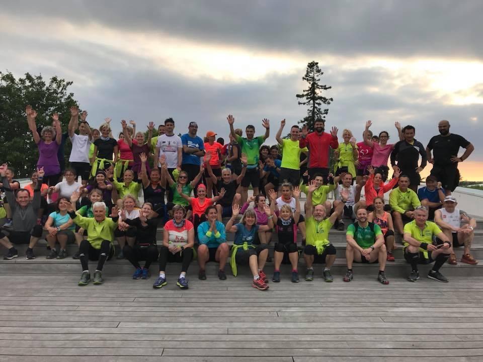 Reconnaissance du 12km d'Entre Côtes et Ceps du mardi 15 Mai 2018
