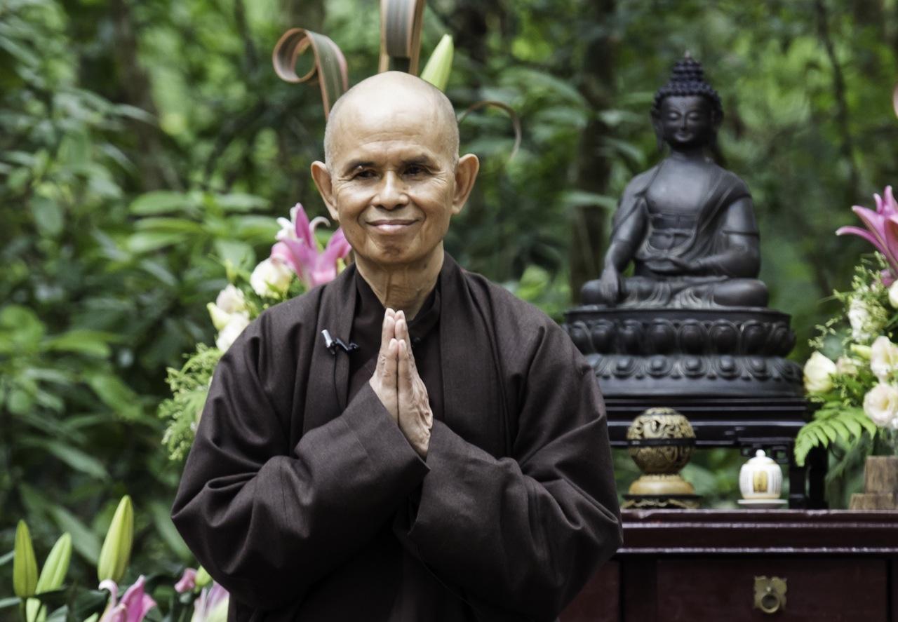 Resultado de imagem para Thich Nhat Hanh