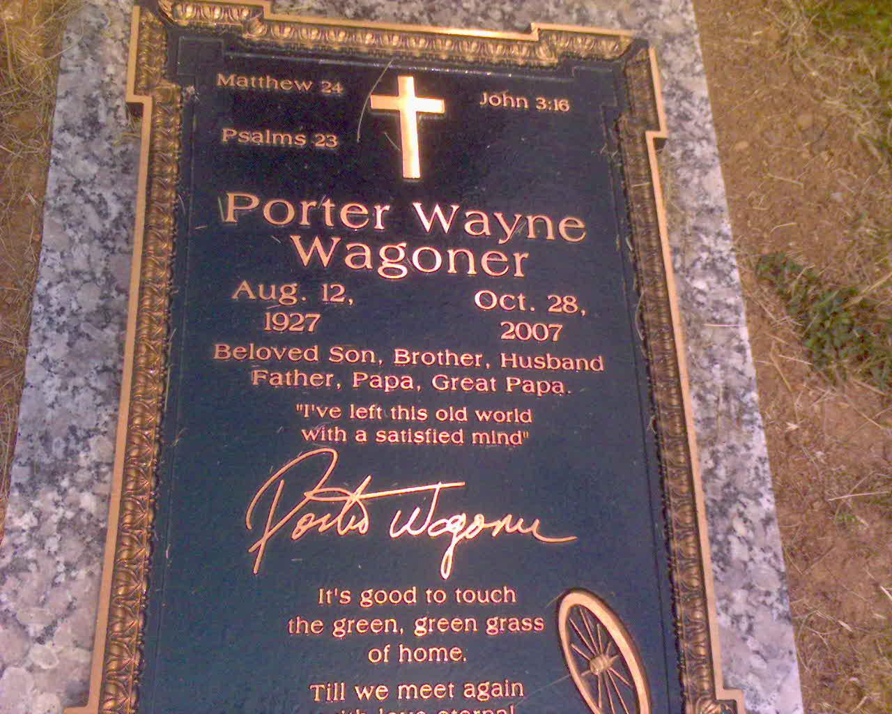 Porter Wagoner Found A GraveFound A Grave