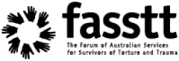 FASSTT logo refugee trauma recovery in resettlement conference