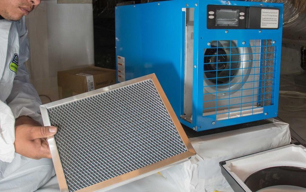 Dehumidifier maintenance