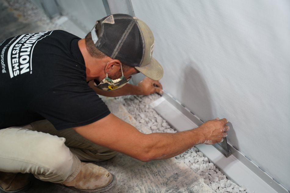 basement waterproofing before finishing