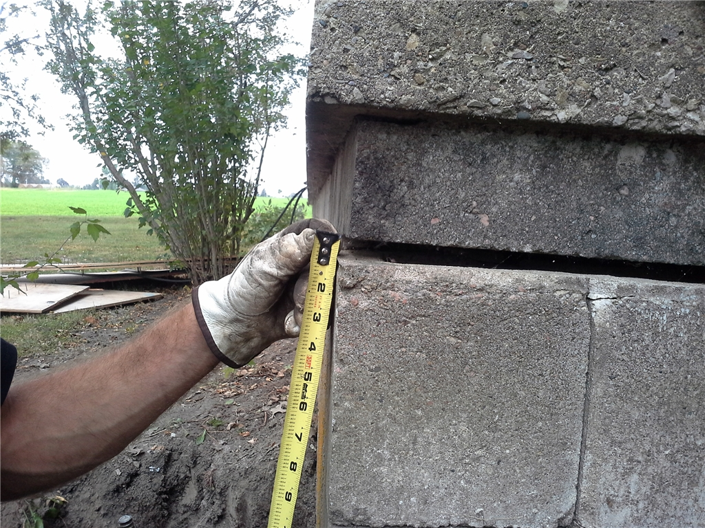 foundation issues while building