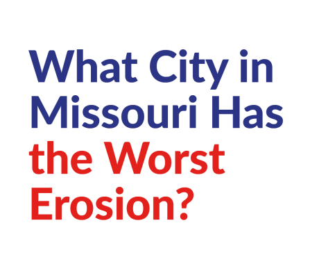 What City in Missouri Has the Worst Erosion?