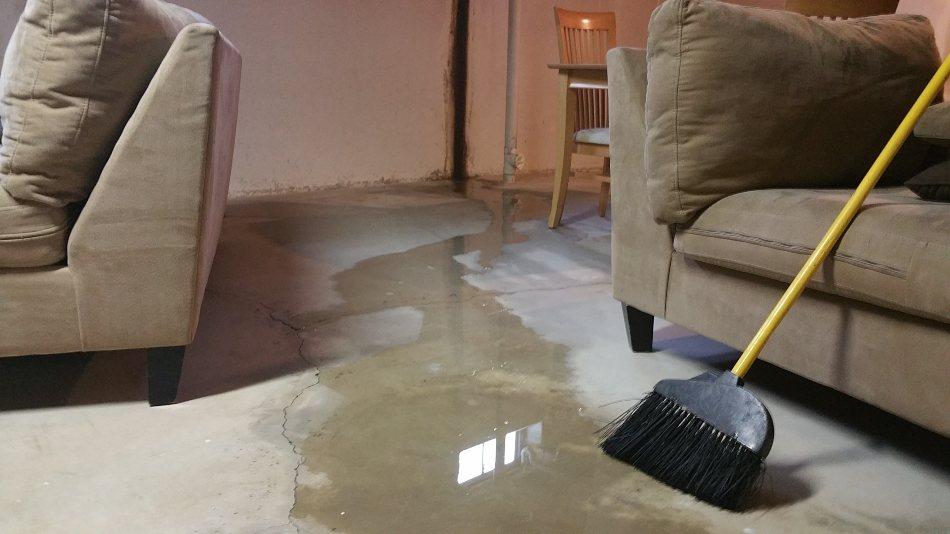 basement cracks and leaks