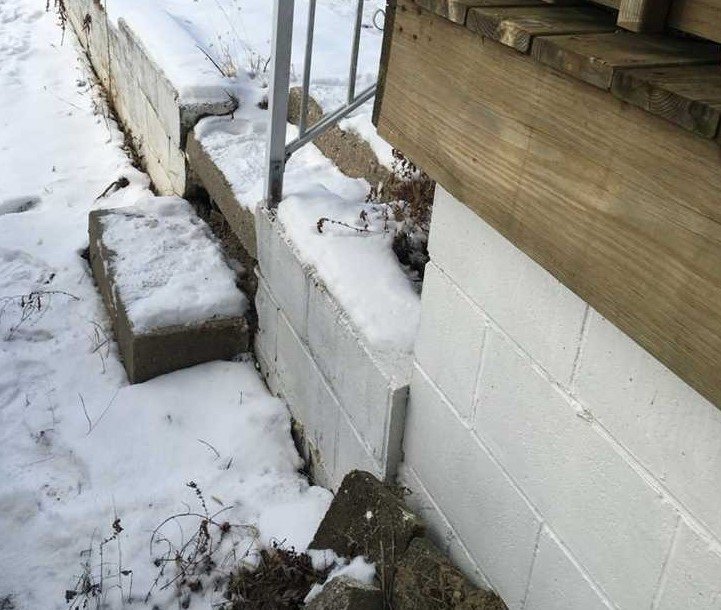foundation snow and ice prevention