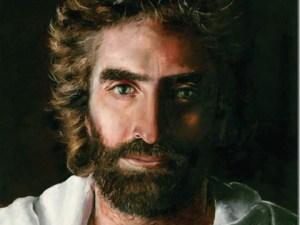 A painting of Jesus Christ by Akiane Kramarik, which Colton Burpo said looked like Jesus when he saw him (Credit: Akiane Kramarik)