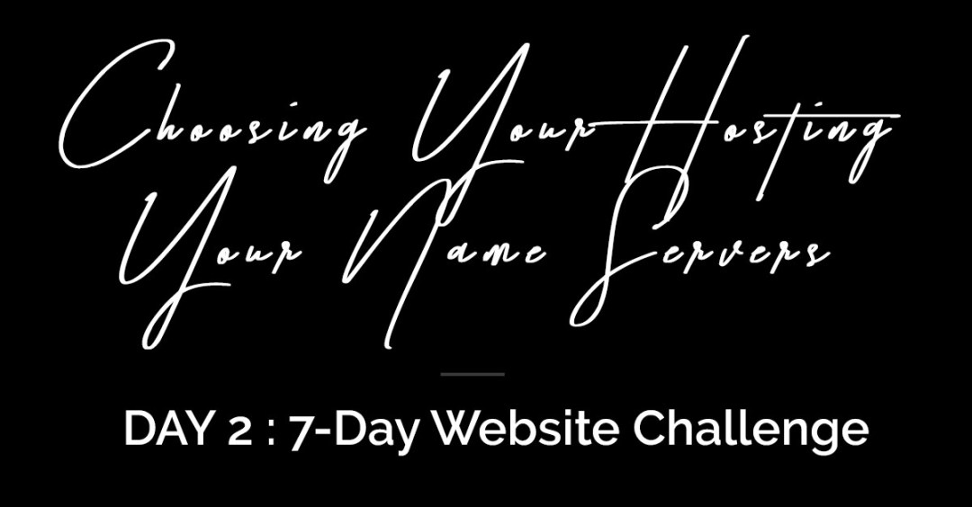 DAY 2 BUILD YOUR WEBSITE CHALLENGE
