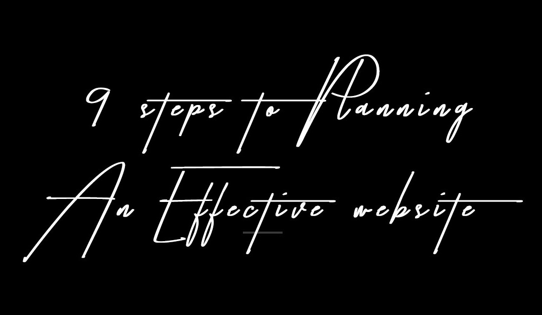 TSF #001: 9 STEPS TO PLANNING YOUR EFFECTIVE WEBSITE