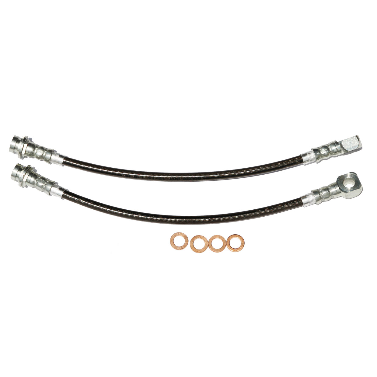 Camaro Firebird Front Stainless Steel Hose Kit