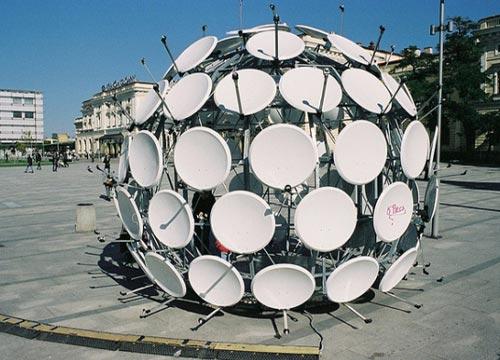 Satellite Dish Ball