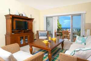 The cozy living space of the best resorts in Anguilla