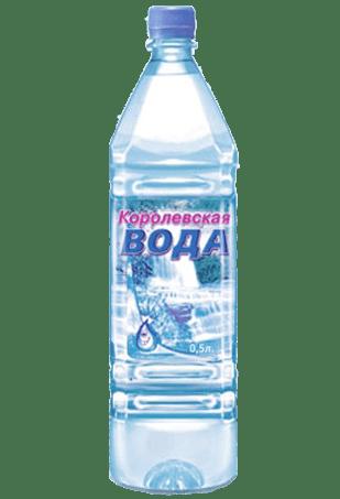 королевская вода, питьевая вода, газированная, пачка воды 0,5 л., вода 0,5 л., газированная вода в бутылке
