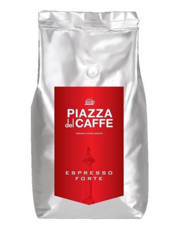 Piazza del Caffee Espresso Forte кофе в зернах, зерновой кофе