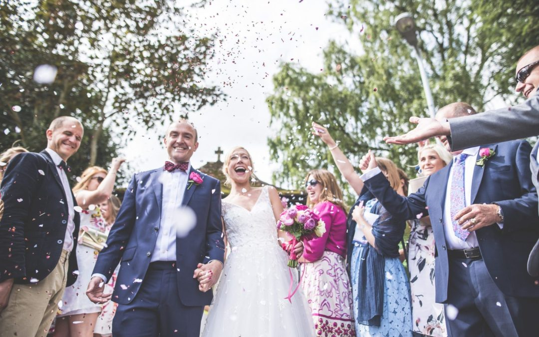 Vicky and Stew's summer wedding in Somerset
