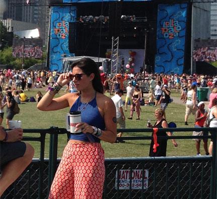 Lollapalooza Fashion Style Stage