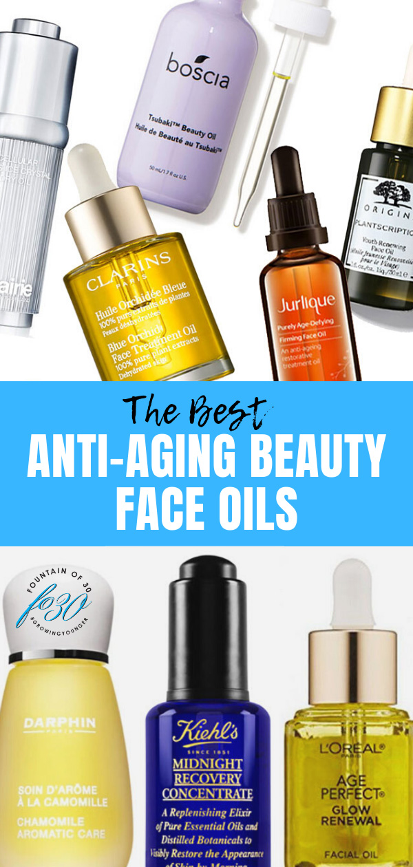 best anti-aging beauty face oils fountainof30