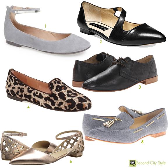 Flat Fashionable Shoes Fall 2014