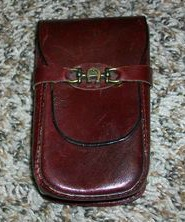 This is my old cigarette case! Not the actual one, since it is long gone, but it looked just like this!