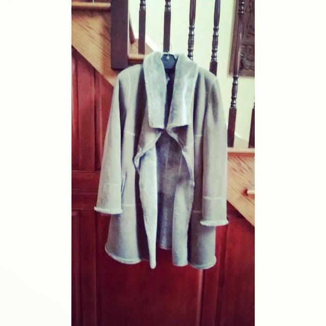 Lafayette 148 New York shearling coat