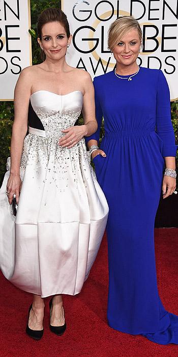 Tina Fey in  Amy Poehler in Stella McCartney