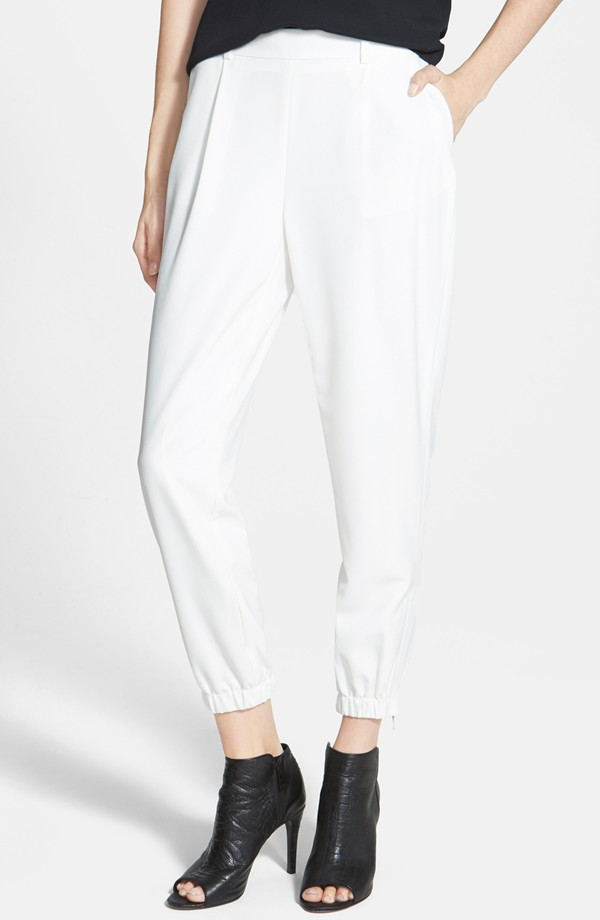 Trouvé Elastic Cuff Pleated Pants