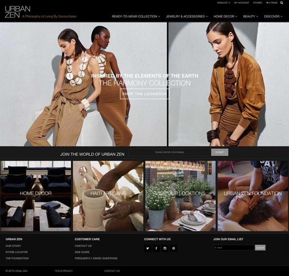Urban Zen by Donna Karan, Fashion, Ecommerce