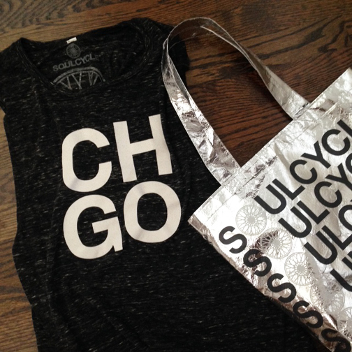 SoulCycle Apparel, sportswear, Athleticwear, Chicaago