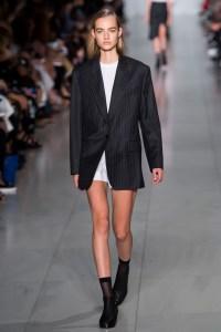 New York Fashion Week, Spring '16, DKNY , Runway,Look 1