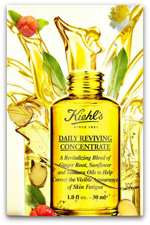 Kiehls oil, Daily Reviving Concentrate
