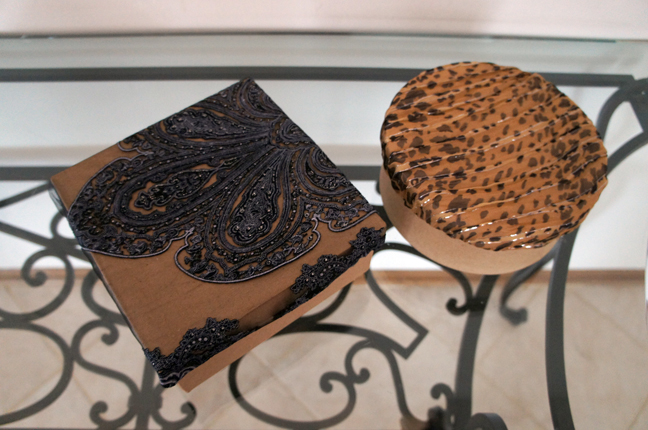 Decorative-Scarves-Wrap-lids-of-Paper-Mache-Craft-Boxes-for-Holiday-Gifts