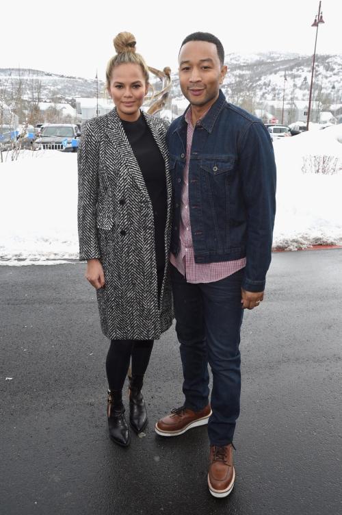 Chrissy Teigen and John Legend at Sundance Film Festival 2016