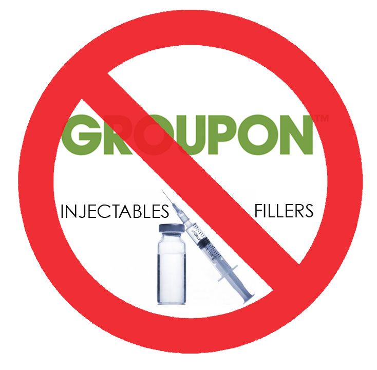 Why You Should Never Buy Fillers Injectables On Groupon Fountainof30 Com