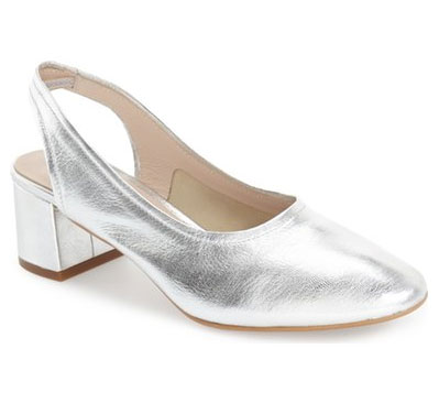 block-heel-silver