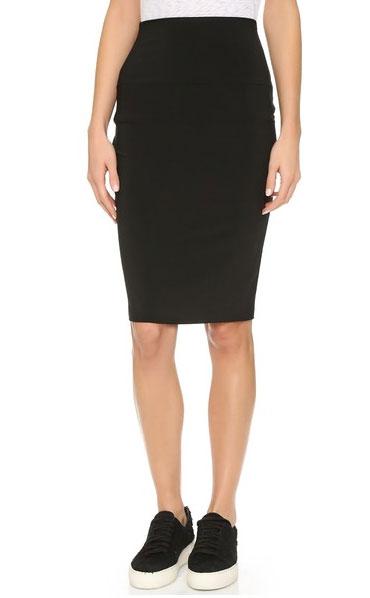 pencil-skirt-black-to-knee